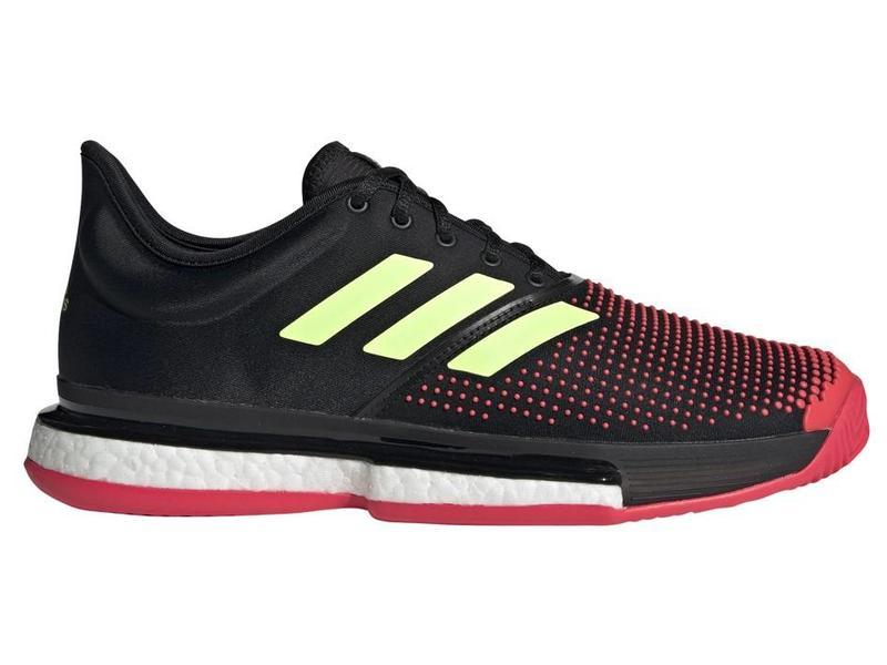 e997e92228c0d SoleCourt Boost Bk Red Green Men s Shoes - Tennis Topia - Best Sale ...