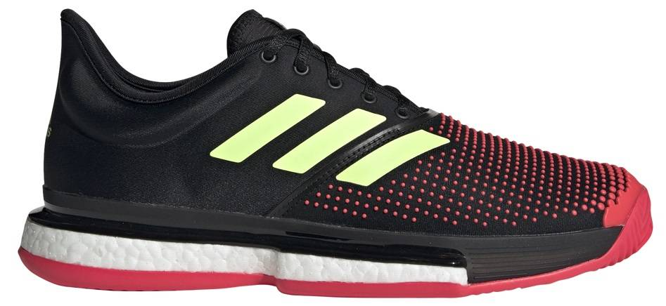 45a4bebe6ba6 SoleCourt Boost Bk Red Green Men s Shoes - Tennis Topia - Best Sale ...