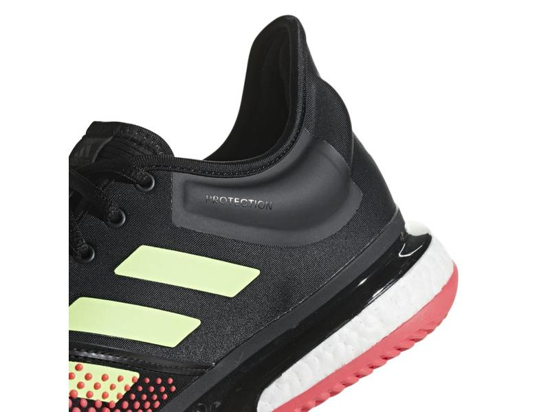 Adidas SoleCourt Boost Bk/Red/Green Men's Shoes