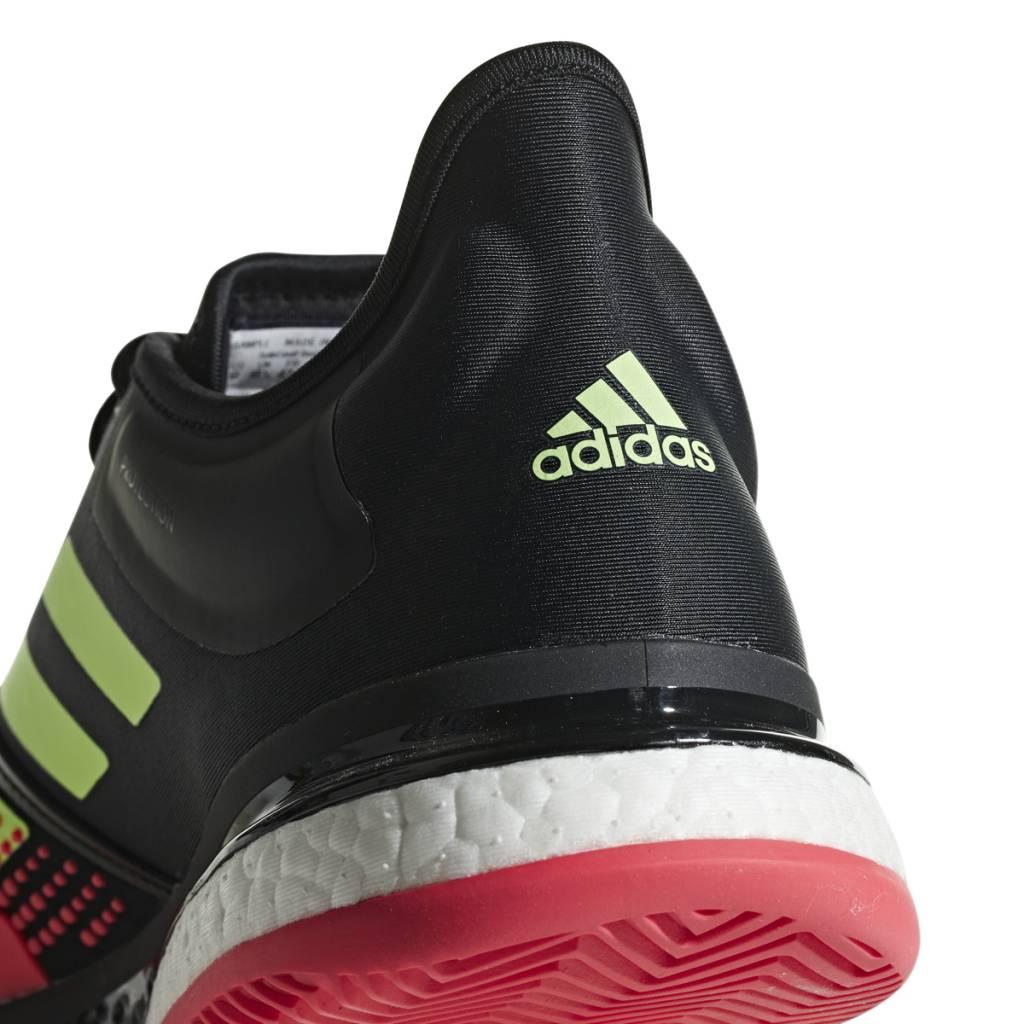 newest cbb9a 9970a ... Adidas SoleCourt Boost Bk Red Green Men s Shoes ...