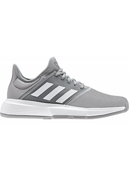 Adidas GameCourt Granite/White Women's Tennis Shoes