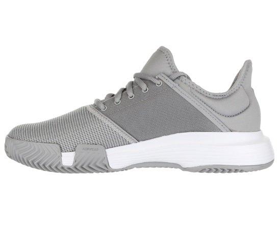 low priced acc71 cae92 ... Adidas GameCourt Granite White Women s Tennis Shoes