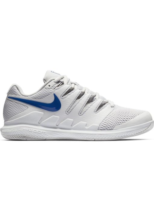 Nike Zoom Vapor X HC Grey/Indigo Men's Tennis Shoes