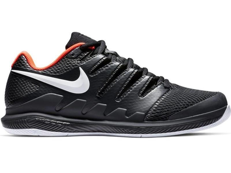 new arrival 5d33a f9ec7 Nike Zoom Vapor X HC Black Crimson Men s Shoe