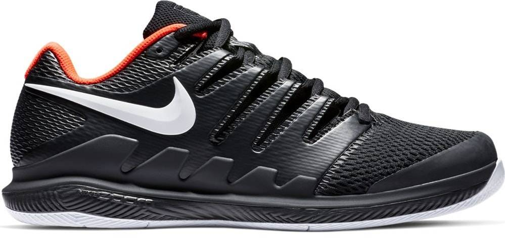 Zoom Vapor X HC Black/Crimson Men's Shoe