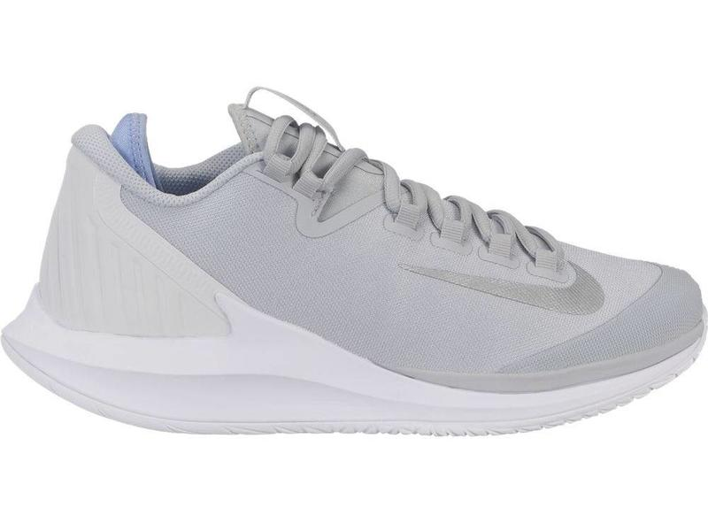the latest b955d 611a0 Nike Court Air Zoom Zero Platinum Silver Women s Shoe
