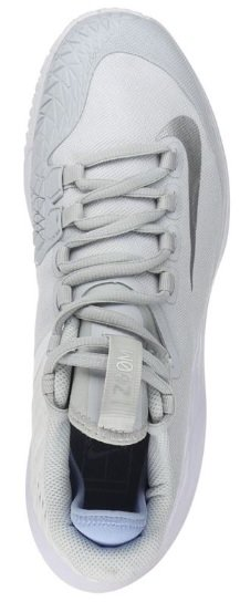 b9bee50c416c7 Court Air Zoom Zero Platinum Silver Women s Shoe - Tennis Topia ...
