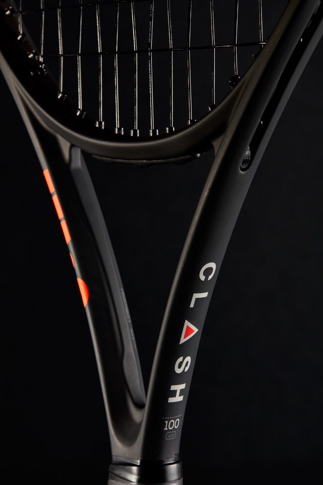 Wilson Clash 100 Tennis Racquet Throat View