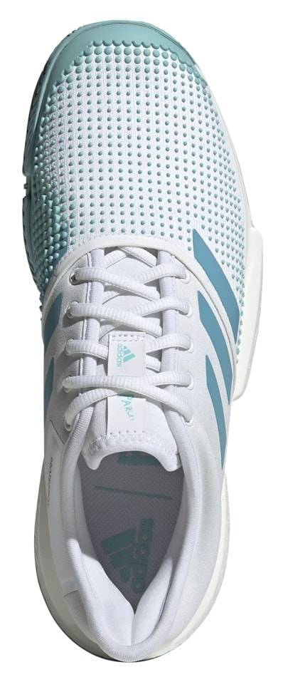 6c0dcf37d897a SoleCourt Boost Parley White Blue Men s Shoe - Tennis Topia - Best ...