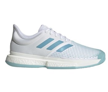 Adidas SoleCourt Boost Parley White/Blue Men's Shoe