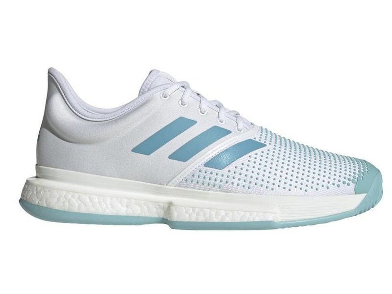 Adidas SoleCourt Boost Parley White/Blue Men's Shoe