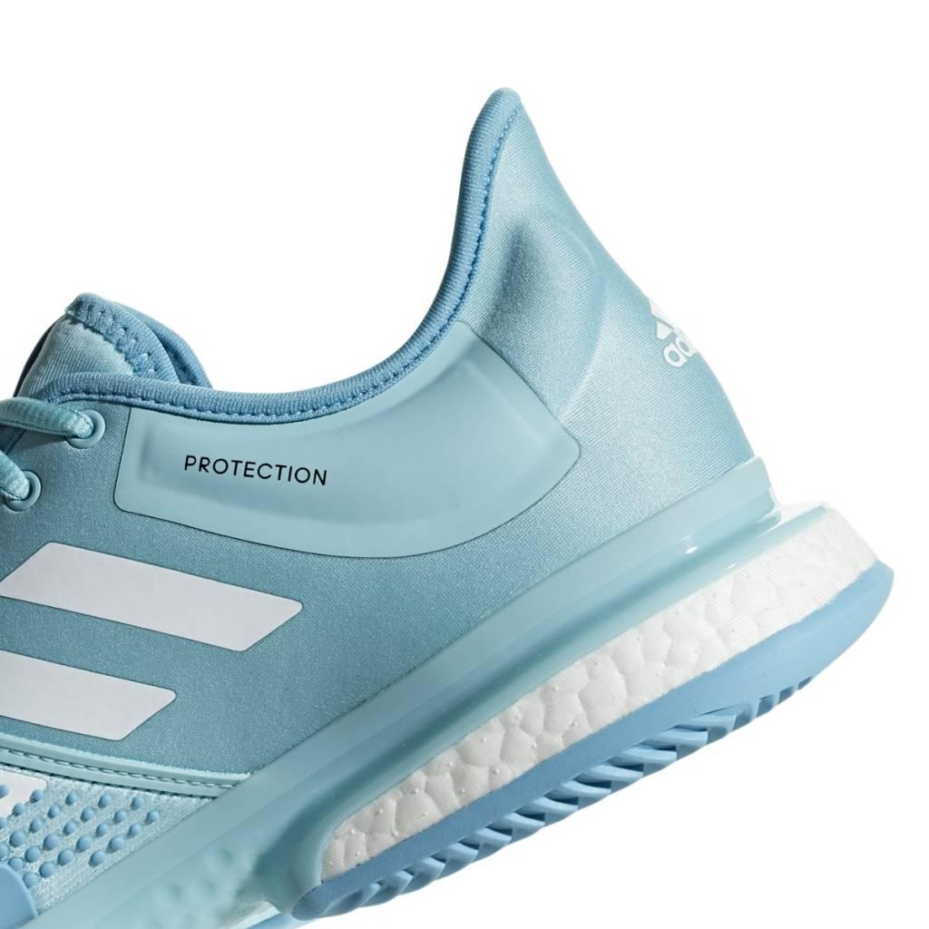 big sale e03d0 f1719 SoleCourt Boost Parley Blue/White Men's Shoe