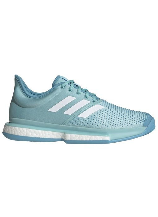 Adidas SoleCourt Boost Parley Blue/White Men's Shoe