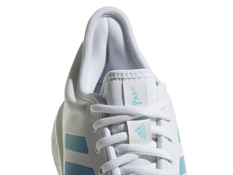 Adidas SoleCourt Boost Parley White Blue Women's Shoe