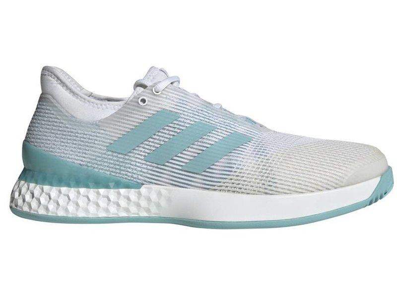 Adidas Adizero Ubersonic 3 Parley White/Blue Men's Shoe