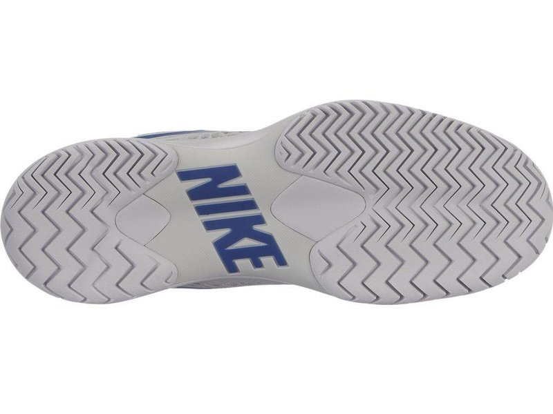 Nike Men's Zoom Cage 3 Grey/Blue Tennis Shoes