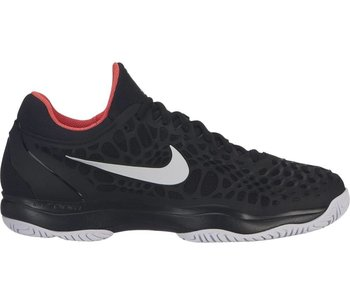 Nike Men's Zoom Cage 3 Black/Bright Crimson Tennis Shoes