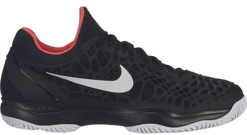 ede84908d521 Zoom Cage 3 Black Crimson Men s Shoe - Tennis Topia - Best Sale ...