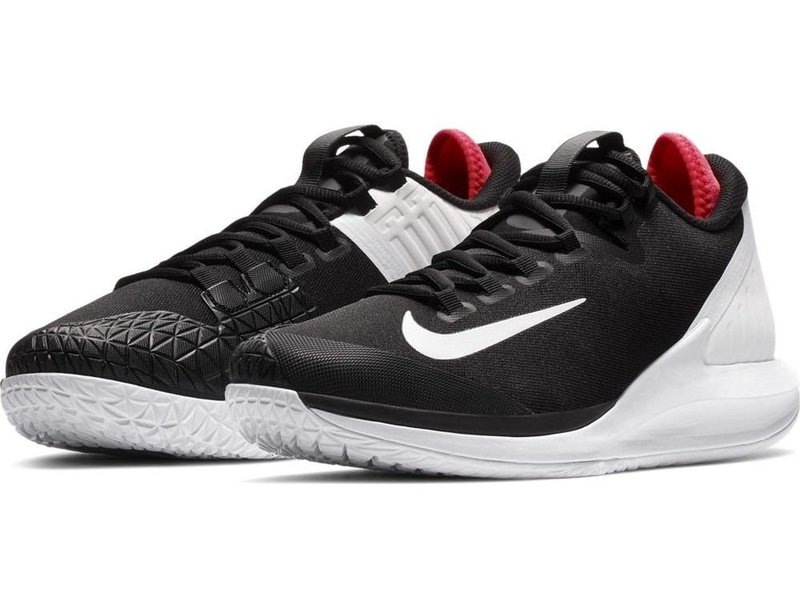 Nike Court Air Zoom Zero Black/White/Crimson Men's Tennis Shoes