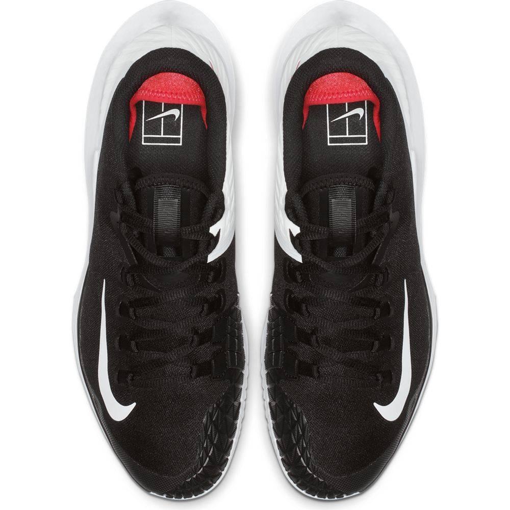 Court Air Zoom Zero BlackWhiteCrimson Men's Tennis Shoes