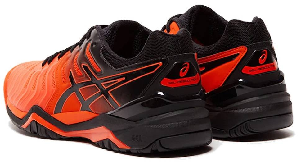 asics shoes black men