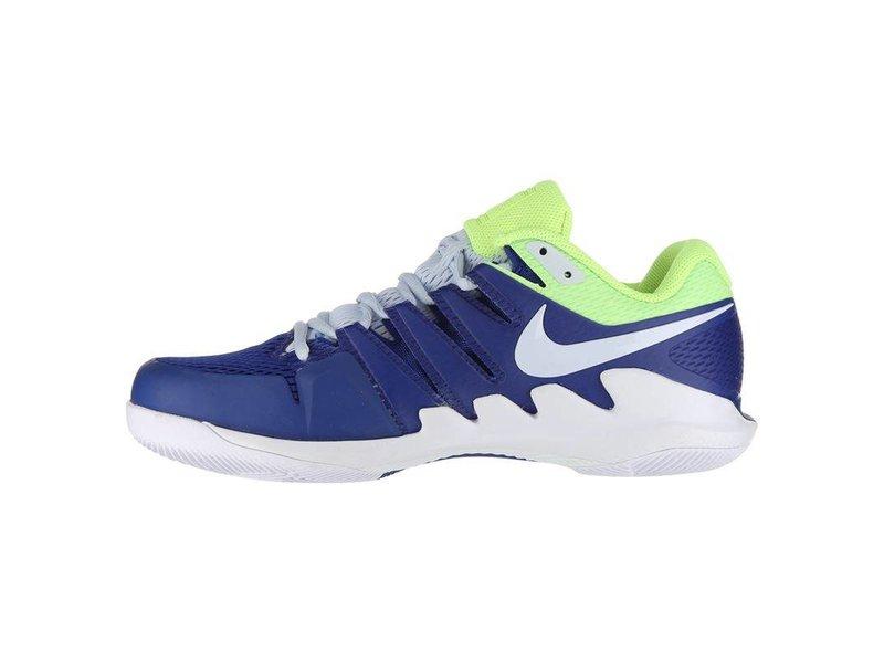 Nike Men's Zoom Vapor X Indigo Blue/Volt Yellow Tennis Shoes