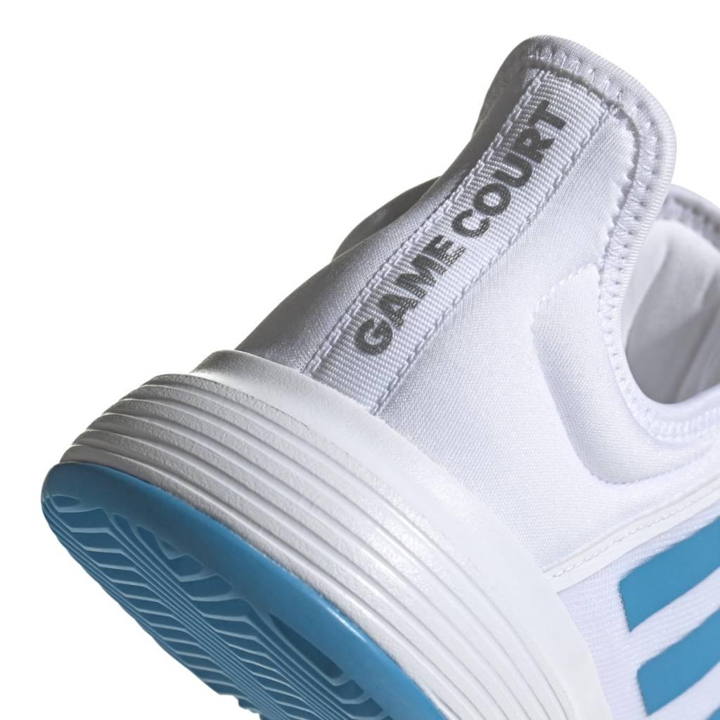 b72342bc873 GameCourt Wide White Blue Women s Shoe - Tennis Topia - Best Sale ...
