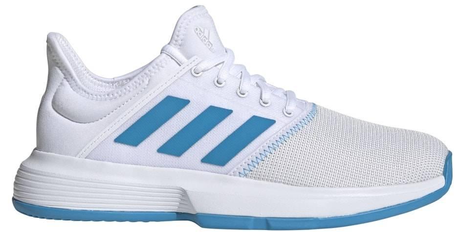 GameCourt Wide WhiteBlue Women's Shoe