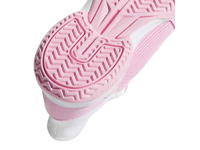 Adidas Adizero Club K Pink/White Junior Tennis Shoes