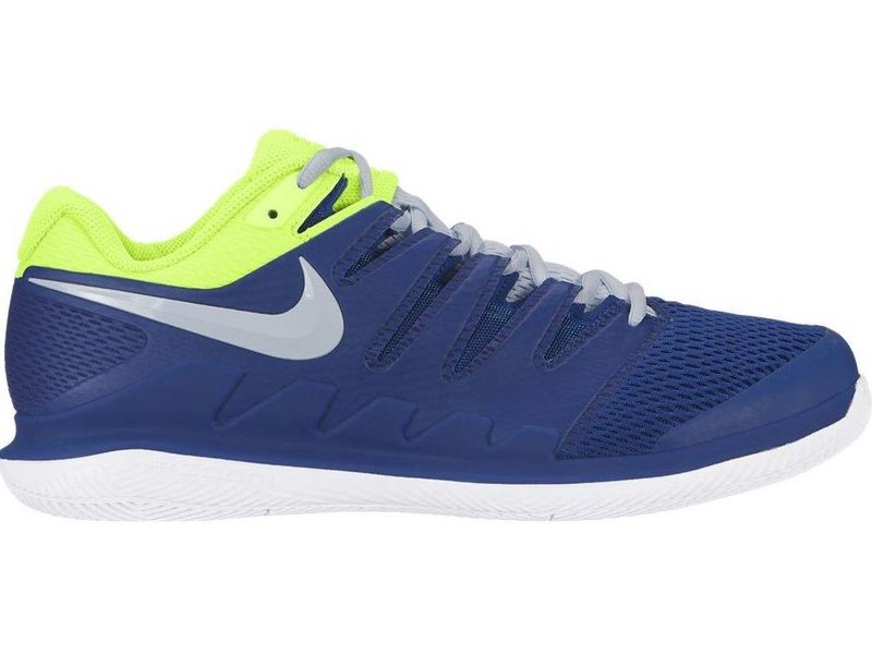 511bd3773efcd Men's Zoom Vapor X Indigo Blue/Volt Yellow Tennis Shoes