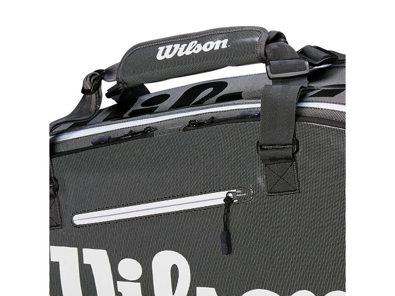 6687d957ba Wilson Super Tour 6-Pack Tennis Bag - Tennis Topia - Best Sale ...