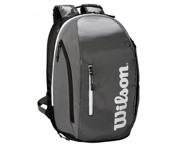 Wilson Super Tour Black/Grey Backpack Tennis Bag
