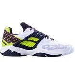 Babolat Propulse Fury White/Fluo Yellow Men's Tennis Shoes