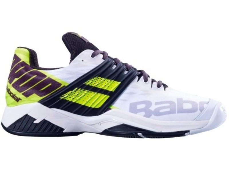 725c530f524 ... Shoes Babolat Propulse Fury White Fluo Yellow Men s Tennis ...