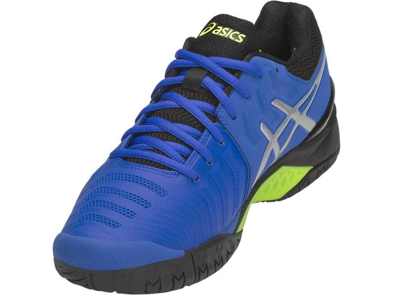 Asics Men's Gel-Resolution Illusion Blue/Silver Tennis Shoes