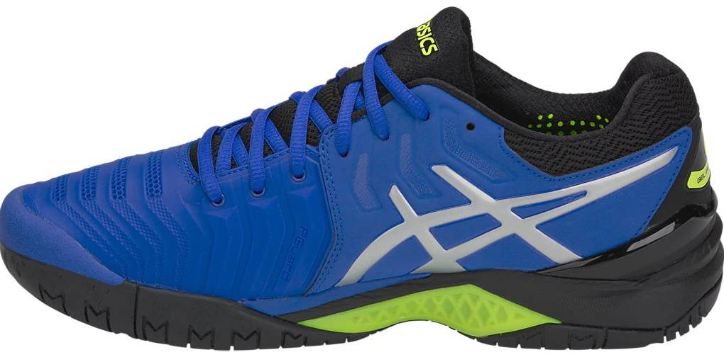 asics tennis shoes mens gel resolution