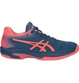 Asics Solution Speed FF Grand Shark Blue/ Papaya Women's Shoes