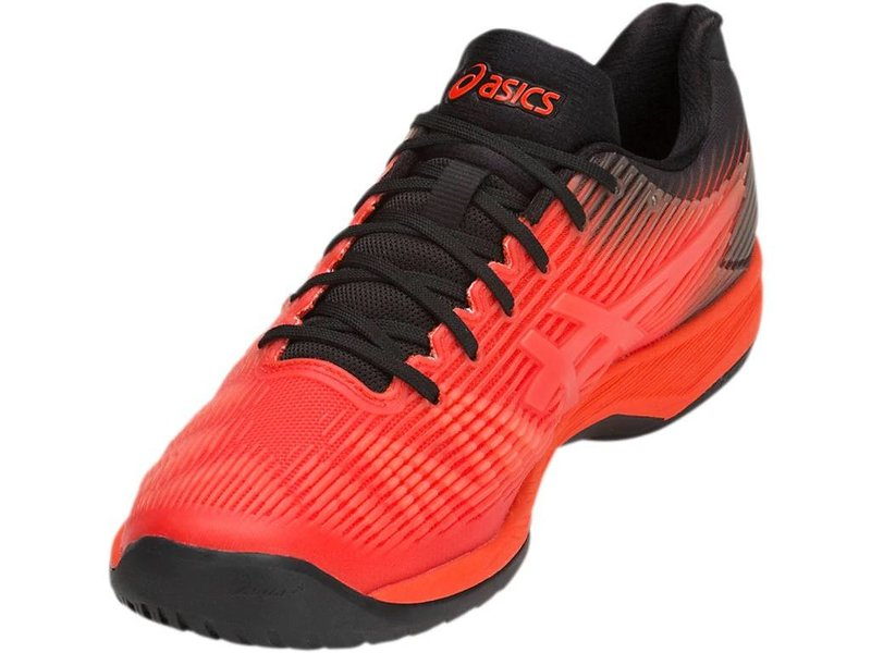 Asics Solution Speed FF Cherry Tomato Red/Black Men's Shoes