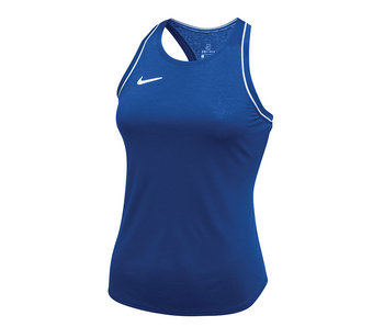 Sherwood HS Girls Court Dry Tank Royal with Sherwood Logo Size SMALL