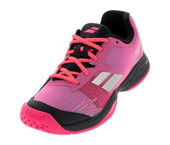 Babolat Babolat Kids Jet All Court Pink/Black Junior Tennis Shoes