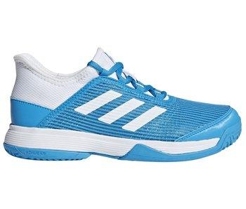 Adidas Adizero K Club Blue/White Junior Kids Tennis Shoes