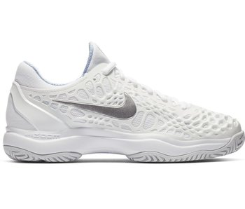 Nike Zoom Cage 3 White/Metallic Silver Women's Shoe