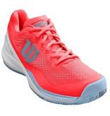 Wilson Women's Rush Pro 3.0 Fiery Coral/White/Grey Tennis Shoes
