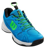 Wilson Juniors Rush Pro Quick Lace Brilliant Blue/Green/White Tennis Shoes