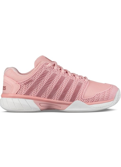 K-Swiss Women's Hypercourt Express Coral Blush/White Tennis Shoes