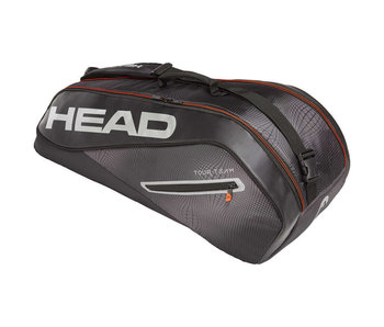 Head Tour Team 6R Combi Tennis Bag Black/Silver