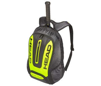 Head Extreme Tour Team Backpack Tennis Bag Black/ Neon Yellow