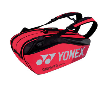 Yonex Pro Series 6-Pack Tennis Bag (Flame Red)