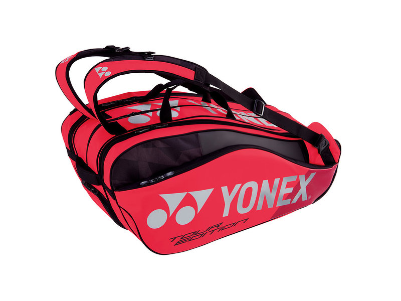 Yonex Pro Series 9-Pack Bag (Flame Red)