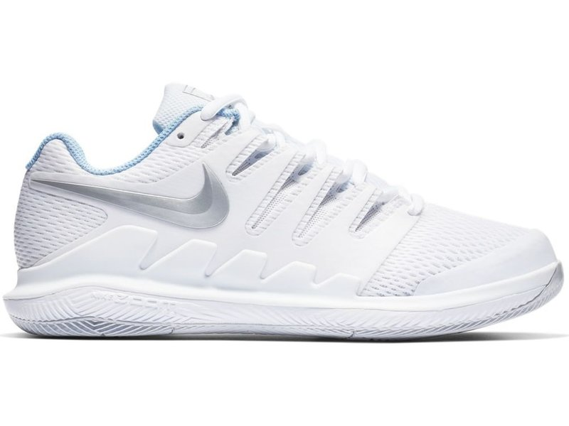 Perplejo canal interferencia  Nike Zoom Vapor X White/Metallic Silver Women's Shoe - Tennis Topia - Best  Sale Prices and Service in Tennis